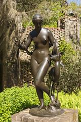 DUC_8025r Nymph and Fawn Carl Paul Jennewein (crobart) Tags: sculpture gardens paul south fawn carl carolina inlet 1922 nymph brookgreen murrells jennewein