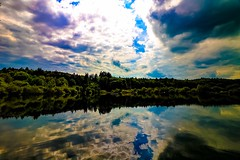 Heaven on the lake (yarin.asanth) Tags: wood trees sea sky sun lake love nature water colors rain clouds work reflections spring heaven mood break power earth dream dreaming chi southerngermany yarinasanth gerdkozik