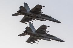 Super Hornet E & F (Norman Graf) Tags: plane airplane fighter aircraft nfl attack jet missile hornet aim boeing f18 sidewinder ordnance fa18 superhornet fa18f f18e f18f fa18e aim9 amraam nasfallon aim120 atflir knfl aim9x targetingpod 166662 ac114 ac201 anasq228 166951 airinterceptmissile advancedtargetingforwardlookinginfrared advancedmediumrangeairtoairmissile