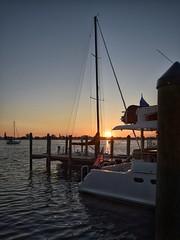 Seafood Shack Sunset (And Hei) Tags: sunset sea usa gulfofmexico sunrise pier sonnenuntergang florida ami amerika sonnenaufgang bradenton annamariaisland golfvonmexiko seafoodshack
