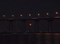 Strawberry Solstice (@TripDawg) Tags: bridge sky moon view sandiego fullmoon solstice moonrise rise coronado summersolstice coronadobridge tidelandspark klownacide tripdawg