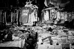 confined (liver1223) Tags: street city people bw photo shot market snap hong kong gr ricoh suffocate the