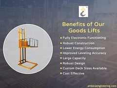 Goods Lifts (ambicaengineering) Tags: goods lifts goodslifts goodsliftmanufacturers goodsliftsuppliers