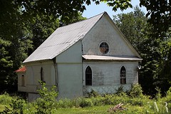 Ancienne glise unie / Former United Church, Tomifobia, Qc (1890) (E-M Costard) Tags: tomifobia evemarie glise church btiments building village rurale rural campagne old cantonsdelest estrie quebec canada abandon
