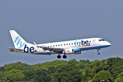 "G-FBJK Embraer 170-200STD Flybe MAN 03-06-16 (PlanecrazyUK) Tags: man manchester 030616 ringway egcc flybe airport"" ""manchester embraer170200std gfbjk"