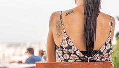 Relaxing. (Ammar Crazzy) Tags: tattoo thailand nikon thai nikkor thaigirl thaitattoo thailady d810 thaistreet