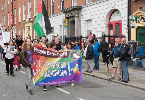 PRIDE PARADE AND FESTIVAL DUBLIN 2016 [PEOPLE BEFORE PROFIT]-118208