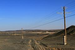 I_B_IMG_7456 (florian_grupp) Tags: china railroad train landscape asia mine desert muslim railway steam xinjiang mikado locomotive ore js steamlocomotive 282 opencastmine yamansu