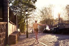L'inconnue  la petite culotte (Alice Dardun) Tags: street woman paris panties nude walking freedom back underwear lyon femme panty lingerie dos libert unknown rue seconde culotte marcher inconnue