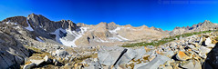 Mather Pass (jlindhardt) Tags: california park lake snow water john photography back nikon pacific hiking pass peak canyon hike crest sierra trail pack national backpacking backpack granite pacificcresttrail pct palisade sierranevada muir jmt kingscanyonnationalpark johnmuirtrail matherpass middlepalisade lindhardt normanclydepeak disappointmentpeak jlindhardt lindhardtphotography mtjepson