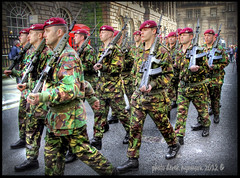 4th Battalion The Parachute Regiment (Derek Hyamson) Tags: liverpool candid hdr freedomofcity 4thbattaliontheparachuteregiment