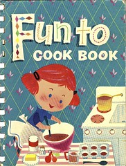 Fun To Cook Book (Wires In The Walls) Tags: 1955 illustration vintage 1950s childrens inthekitchen carnationmilk funtocookbook margieblake