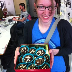 Yay! @anna_debenham made cupcakes.