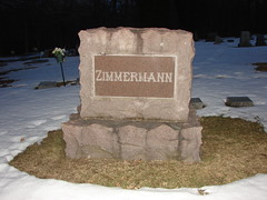 Zimmermann family headstone (Philip Weiss) Tags: grave genealogy mcgregoriowa pleasantgrovecemetery