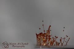تراقص القطرات (Mazen_Alghamdi) Tags: canon 75300 mazen قطرة 550d كانون الغامدي مازن alghamdi القطرات تراقص