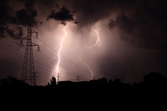 Orage sur Nevers (baghee58) Tags: storm nature orage nevers foudre clairs nivre
