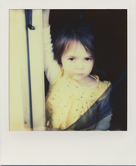 reagan (daveotuttle) Tags: polaroid sx70 maybe theniece px70 impossibleproject coolfilm theyellowpack maybepx680