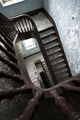 swing slide. (stevenbley) Tags: ny newyork rot abandoned hospital rust decay urbanexploration monsoon peelingpaint asylum psychiatric urbex psychiatriccenter canon50d guerillahistorian