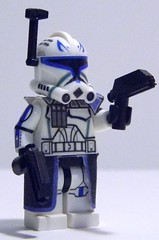 Custom LEGO Phase 2 Captain Rex from Season 4 (JPO97Studios) Tags: 2 season army star lego 4 company captain 501st wars cac clone rex phase pistols torrent customs the dc17 jpostudios jpo97studios