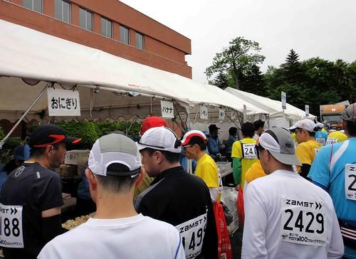 サロマ湖100kmウルトラマラソン〜レストステーション4