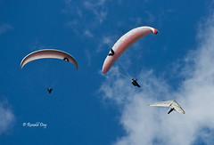 Sky Dancer (Ron1535) Tags: wings sails roll pitch soaring paraglider gliders hangglider thermals deltaplane yaw rigidwing freeflight paragliderpilot windcurrents freeflyers hanggliderpilot flexiblewing glideraircraft soaringaircraft glidersports