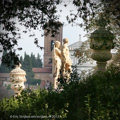 Florence - Late arrivals (EricStrijbos) Tags: italy sculpture statue architecture garden florence san italia tuscany firenze dei monti miniato