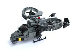 DARKWATER Abaddon Dropship (✠Andreas) Tags: lego military darkwater vtol dropship thepurge avatarsamson legovtolabaddon