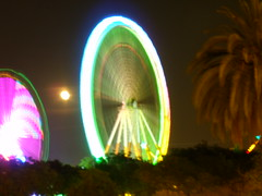 Wheel of light (oliviathebig) Tags: wheel ride fairground ground fair ferris