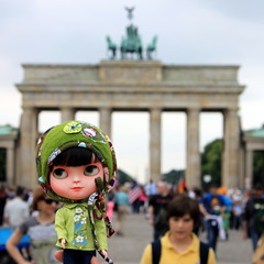 Emma and the Brandenburger Tor
