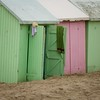 Green hut (PhotobyVéro) Tags: france green beach square europe colours couleurs towel huts plage bercksurmer picardie carré cabanes