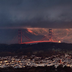 San Francisco - Golden Moments (Andrew Louie Photography) Tags: park bridge summer sun fog golf golden gate san francisco hawk district marin hill andrew richmond lincoln headlands louie rise