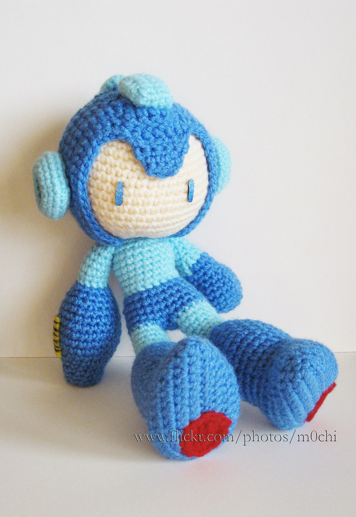 Amigurumi Mega Man : The Worlds Best Photos by mochillery - Flickr Hive Mind