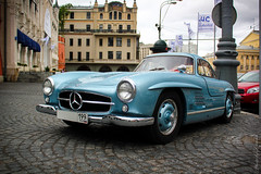 Gullwing (Speedin'Moscow) Tags: photo foto russia moscow legendary mercedesbenz luc chopard 300sl gullwing     speedin  worldcars