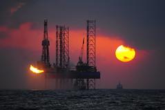 SUN & FIRE (nabilelsherif) Tags: sea sun fire nikon d90 55300mmvr bestcapturesaoi elitegalleryaoi mygearandme mygearandmepremium