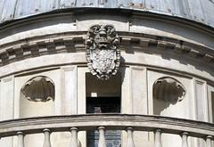 Bramante's Tempietto, exterior drum