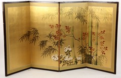 27. Japanese Folding Table Screen (Byobu)