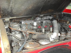 Bristol Lodekka FS6G - BXA464B - Engine Bay (Zelandeth) Tags: b bus museum bristol transport double gardner decker grampian 464 lodekka 6lb bxa fs6g bxa464b