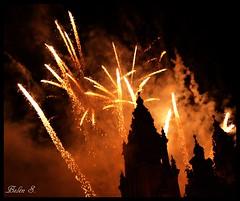 Santiago de Compostela - Fuegos del Apstol (Beln S.) Tags: espaa fire spain galicia galiza santiagodecompostela fuegosartificiales fuegos 2012 fuegosapstol