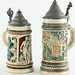 371. Two German Beer Steins