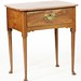 13. 19th century Queen Anne style Work Table