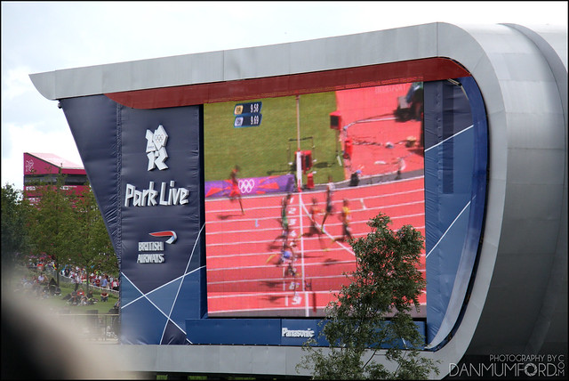 British Airways / Panasonic Park Live Giant Screen