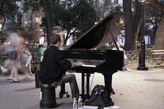 True Talent (Génial N) Tags: park musician music ny newyork pentax washingtonsquarepark piano streetartist nycity pentaxkr