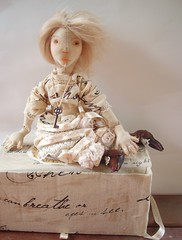 Sonnet (Jordan Taylor - The Free Folk) Tags: art ooak sewing shakespeare romantic artdoll sonnet shabby clothdoll