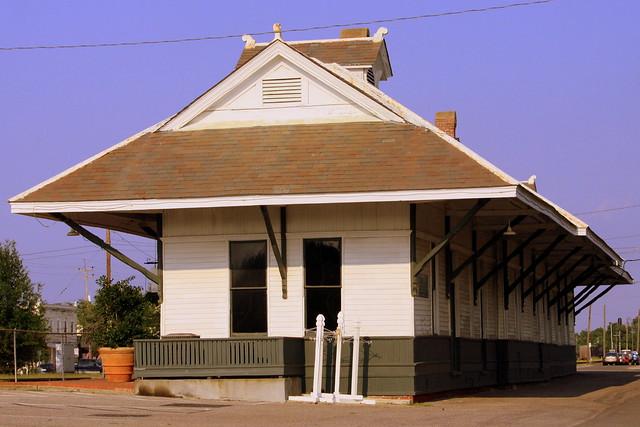 Pascagoula, MS Train Depot