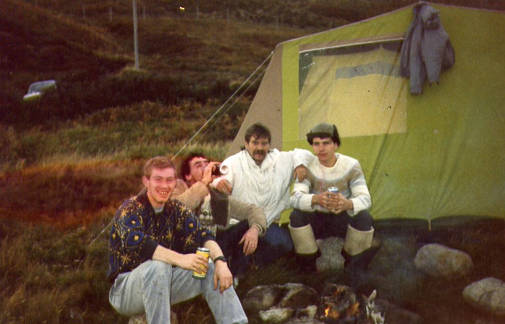 Fishing trip Loch Erich 1980s