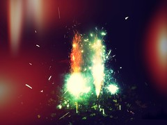 Fifth (dargieduncan) Tags: camera fireworks bonfirenight tailfins 5thofnovember iphoneography snapseed