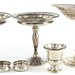 2081. Six Sterling Silver Table Articles