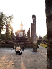 Sukhothai Historical Park (The Street Guy) Tags: architecture thailand lumix amazing ancient asia seasia buddha buddhism olympus unesco temples civilization siam 43 worldheritage sukhothai historicalpark m43 leicar24mm28