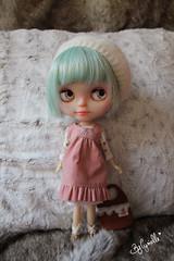 Usagi (Cyrielle 1) Tags: cute doll faceplate lips blythe custom takara msr usagi eyelids translucid rbl eyechips cyrielle pullrings misssallyrice