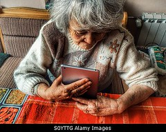 Photo accepted by Stockimo (vanya.bovajo) Tags: old portrait woman senior work holding hands women technology hand adult working using indoors mature elderly older retired tablet iphone pensioner iphonegraphy stockimo